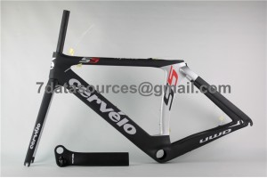 Cevelo S5 Carbon Road Bike Bicycle Frame Silver