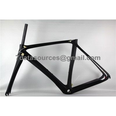 sale retailer d3d06 d359a De Rosa 888 Carbon-Faser-Straßen-Fahrrad-Rahmen keine Abziehbilder