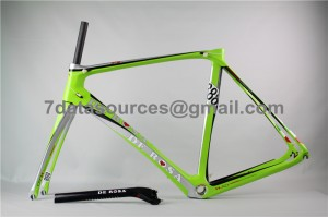 De Rosa 888 Carbon Fiber Road Bike Bicycle Frame Green