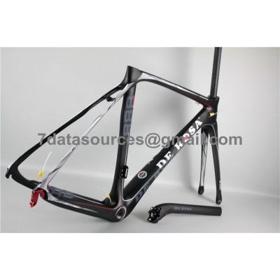 De Rosa 888 Carbon Fiber Road Bike Bicycle Frame Black-De Rosa Frame