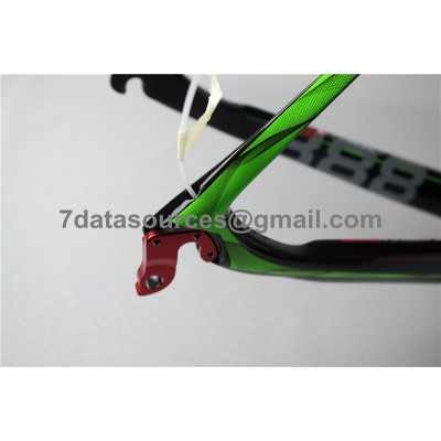 De Rosa 888 Carbon Fiber Road Bike Bicycle Frame Green-De Rosa Frame
