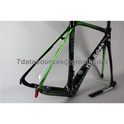 De Rosa 888 Carbon Fiber Road Bike Bicycle Frame Green-De Rosa Frame