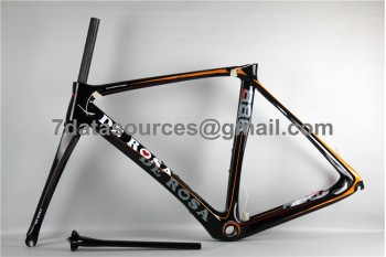 De Rosa 888 Carbon Fiber Road Bike Bicycle Frame Orange