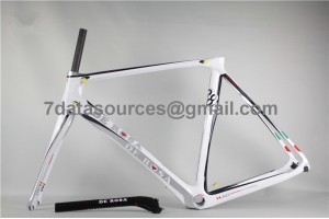 De Rosa 888 Carbon Fiber Road Bike Bicycle Frame white