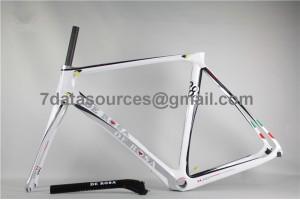 De Rosa 888 Carbon Fiber Road Bike Bicycle Frame white