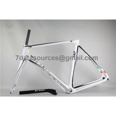 De Rosa 888 Carbon Fiber Road Bike Bicycle Frame white-De Rosa Frame