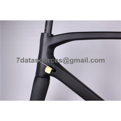 Look 695 Carbon Fiber Road Bike Bicycle Frame No Decals-Look Frame