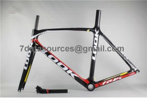 Look 695 Carbon Fiber Road Bike Bicycle Frame Yellow