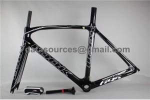 Look 695 Carbon Fiber Road Bike Bicycle Frame Black Flashing 1K