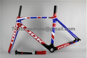 Look 695 Carbon Fiber Road Bike Bicycle Frame Colorfull