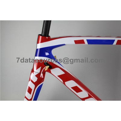 Look 695 Carbon Fiber Road Bike Bicycle Frame Colorfull-Look Frame