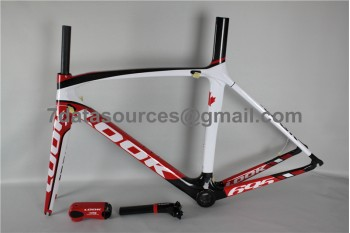 Look 695 Carbon Fiber Road Bike Bicycle Frame Red