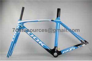 Look 695 Carbon Fiber Road Bike Bicycle Frame Blue
