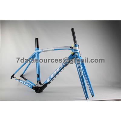 Look 695 Carbon Fiber Road Bike Bicycle Frame Blue-Look Frame