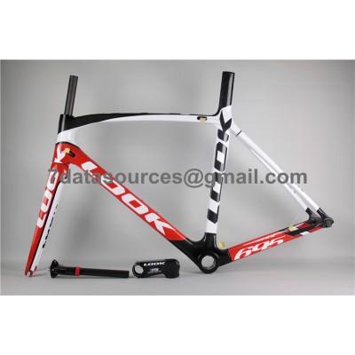 Look 695 Carbon Fiber Road Bike Bicycle Frame Red-Look Frame