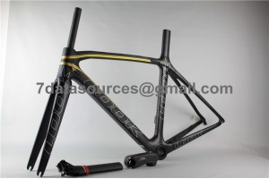 Look 695 Carbon Fiber Road Bike Bicycle Frame Gold