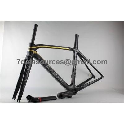 Look 695 Carbon Fiber Road Bike Bicycle Frame Gold-Look Frame