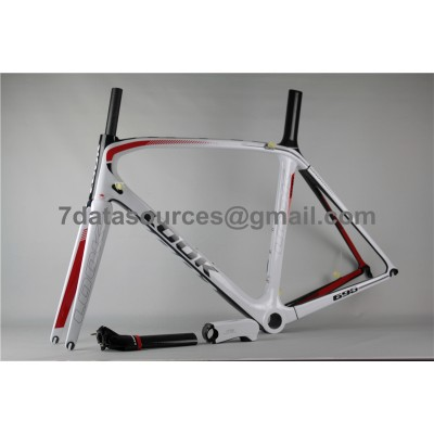 Look 695 Carbon Fiber Road Bike Bicycle Frame Red-Look Frame