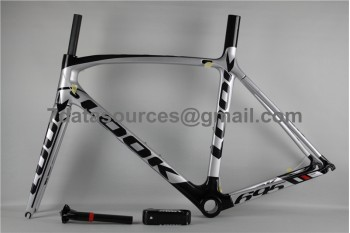 Look 695 Carbon Fiber Road Bike Bicycle Frame White & Black