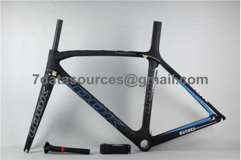 Look 695 Carbon Fiber Road Bike Bicycle Frame Black Matte