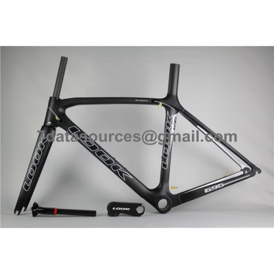 Look 695 Carbon Fiber Road Bike Bicycle Frame Black-Look Frame