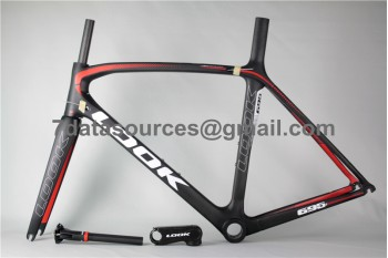 Look 695 Carbon Fiber Road Bike Bicycle Frame Black