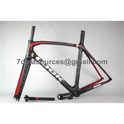 Look 695 Carbon Fiber Road Bike Bicycle Frame Black-Look Frame