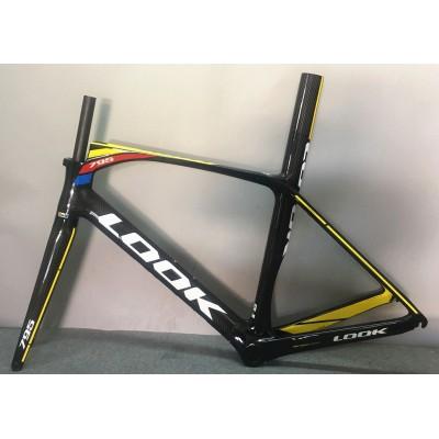 Look 795 Carbon Fiber Road Bike Bicycle Frame Color Mix-Look Frame