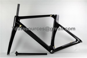 Carbon Fiber Road Bike Bicycle Frame Mendiz RST No Decals