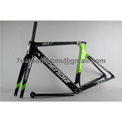 Carbon Fiber Road Bike Bicycle Frame Mendiz RST Green-Mendiz Frame