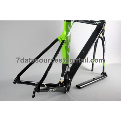Carbon Fiber Road Bike Bicycle Frame Mendiz RST Green-Mendiz Frame