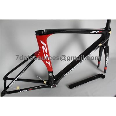 Carbon Fiber Road Bike Bicycle Frame Mendiz RST Red-Mendiz Frame