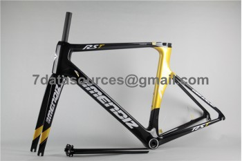Carbon Fiber Road Bike Bicycle Frame Mendiz RST Gold