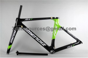 Carbon Fiber Road Bike Bicycle Frame Mendiz RST Green