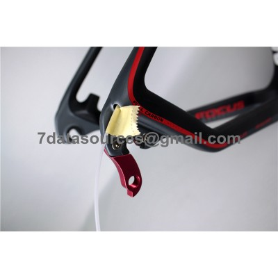 Mountain Bike Focus MTB Carbon Bicycle Frame Red-Focus MTB Frame