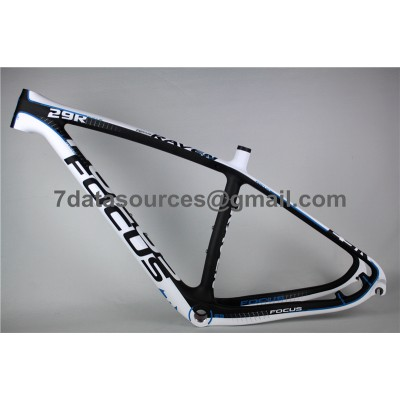 Mountain Bike Focus MTB Carbon Bicycle Frame Blue-Focus MTB Frame