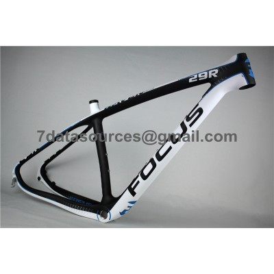 Mountain Bike Focus MTB Carbon Bicycle Frame Blue-Focus MTB Frame