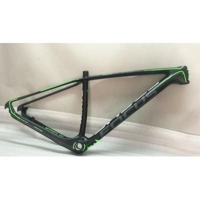 Mountain Bike Focus MTB Carbon Bicycle Frame Green-Focus MTB Frame