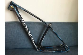 Mountain Bike Focus MTB Carbon Bicycle Frame Blue