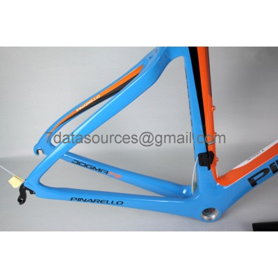 Pinarello Carbon Road Bike Bicycle Dogma F8 Blue-Dogma F8