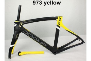 Pinarello Carbon Road Bike Bicycle Frame Dogma F8 Yellow