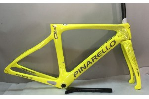 Pinarello DogMa F10 Carbon Road Bike Frame Yellow