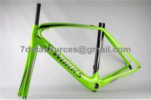 Specialized Road Bike S-works Bicycle Carbon Frame Venge Green