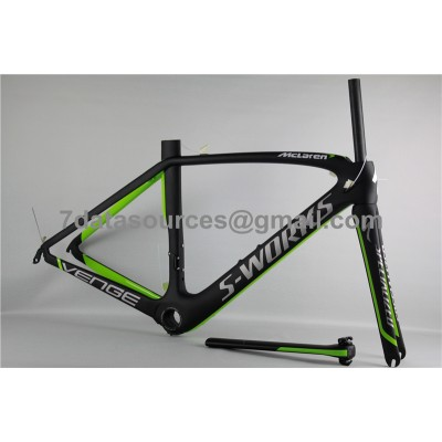 Specialized Road Bike S-works Bicycle Carbon Frame Venge Green-S-Works Venge