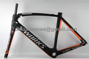 Specialized Road Bike S-works Bicycle Carbon Frame Venge Orange
