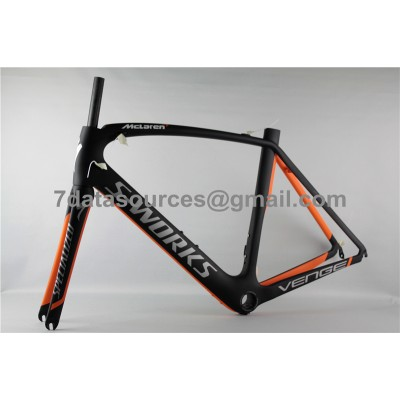 Specialized Road Bike S-works Bicycle Carbon Frame Venge Orange-S-Works Venge