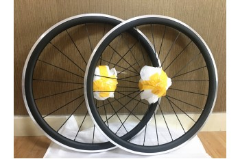 Clincher & Tubular Rims Carbon Road Bike Wheels Aluminum Braking Surface