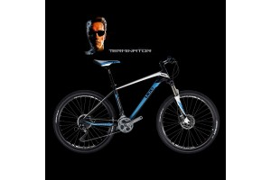 UCC MTB Carbon Bicycle The Terminator Version Blue Complete Bike