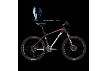 UCC MTB Carbon Bicycle The Terminator Version Pink Complete Bike