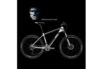 UCC MTB Carbon Bicycle The Terminator Version White Complete Bike